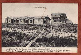 Dr Gmelins Nordsee-Sanatorium, Kolonie Suedstrand-Foehr, Germania, Wyk Nach Loosdorf 1908 (72763) - Allemagne