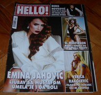 Elle Macpherson - HELLO Serbian November 2014 VERY RARE - Books, Magazines, Comics