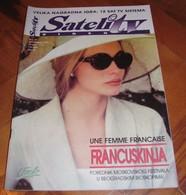 Emmanuelle Beart - SATELIT TV Serbian September 1995 VERY RARE - Books, Magazines, Comics