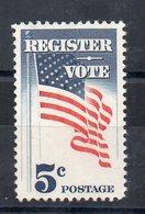 ETATS-UNIS - USA - 1964 - REGISTER - VOTE - FLAG - SE FAIRE RECENSER - VOTER - DRAPEAU - - Etats-Unis