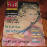 Eva Herzigova - PANO Serbian March 1995 EXTREMELY RARE - Books, Magazines, Comics