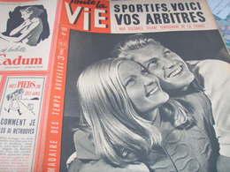VIE/JEAN MARAIS MADELEINE SOLOGNE/SPORTS ARBITRES /PEYNET LOTERIE - 1900 - 1949