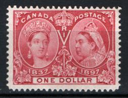 Canada 1897 Y.T.49 MNH/** VF/F - Cert R.Diena - 1851-1902 Regno Di Victoria