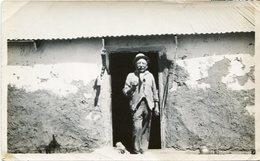 DEMETRIO RAMAS, PARAGUAYO TOMANDO MATES. ARGENTINA. FOTO PHOTO AÑO 1931 SIZE 9X14.5 CM- LILHU - Personas Identificadas