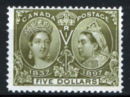 Canada 1897 Y.T.53 MNH/** VF/F - Cert R.Diena - 1851-1902 Regno Di Victoria