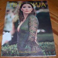 Eva Longoria TV REVIJA Serbian June 2018 VERY RARE - Books, Magazines, Comics