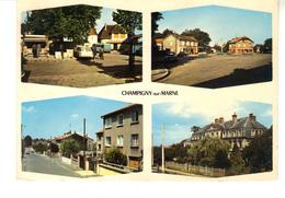 C.P.   CHAMPIGNY-sur-Marne  - Images De France  -   4 Vues  Divers Aspect De La Ville - Champigny Sur Marne