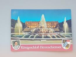 Schloss Herrenchiemsee ( Nicht Gelaufen .ca. 1998); H26 - Chiemgauer Alpen