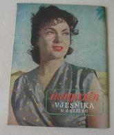 Gina Lollobrigida VJESNIK U SRIJEDU Yugoslavian May 1954 EXTREMELY RARE - Books, Magazines, Comics