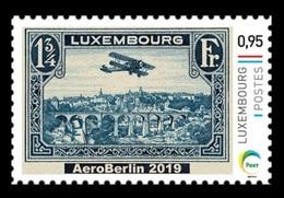 Luxembourg (Meng Post) 2019 No. 125 Aviation. Philatelic Exhibition AeroBerlin 2019 MNH ** - Lussemburgo