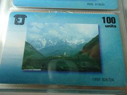 GEORGIA USED CARDS MONUMENTS TIR 30.000 - Georgië