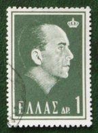 1 Dr King Paul I 1964 Mi 837 Y&T - Used Gebruikt Oblitere HELLAS GRIECHENLAND GREECE - Griechenland