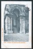GAETA  - LATINA - 1901 - DETTAGLIO DEL CAMPANILE DELLA CATTEDRALE - Latina