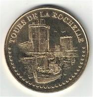 Monnaie De Paris 17.La Rochelle - Tours De La Rochelle 2015 - Monnaie De Paris
