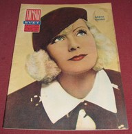 Greta Garbo FILMSKI SVET Yugoslavian March 1965 VERY RARE - Books, Magazines, Comics