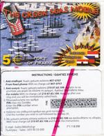 GREECE - Port Of Piraeus, The Greek Seas Mobile, Amimex Prepaid Card 5 Euro(807 0707), Mint - Boats