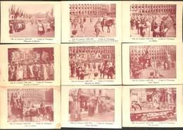 Bruxelles - Lot 12 Cartes Fêtes Du Centenaire 1930 (animée, Géants, Ommegang...) - Fêtes, événements