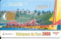CARTES°--PUBLIC-F1093-GEM2-YOLE RAMEURS-UTILISE-TB E - France
