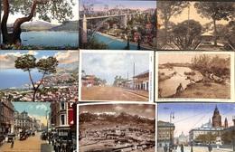 Lot 21 Cartes Un Peu De Tout - Allemagne Italie Congo USA Hôtel ...timbres - Postkaarten