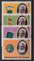 Guinée - 1976 - N°Yv. 572 à 575 - Graham Bell - Neuf Luxe ** / MNH / Postfrisch - Guinea (1958-...)