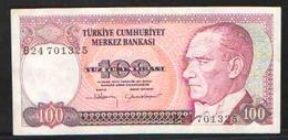 TURKEY 100 1970 {1984} - Turkey