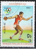 (KAM 5) KAMPUCHÉA // YVERT 365 // OLYMPIADE LOS ANGELES'84 // 1983 - Kampuchea