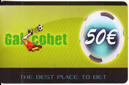 GREECE - GalCobet Charge Card 50 Euro, Sample - Unclassified