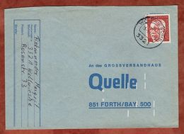 Brief, Heinemann, Woltwiesche Nach Fuerth 1971 (72776) - [7] Federal Republic