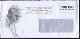 Vatican 2016 / Pope Francisco, Francis / Port Paye, Postage Paid - Popes
