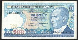 TURKEY 500 1970 {1984} - Turquia