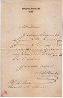 VP14.825 - MOUCHY NOAILLES ( OISE ) - LAS - Lettre Autographe Mr A. BACH - Autographes