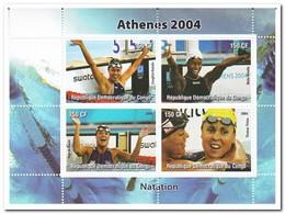 Congo 2004, Postfris MNH, Swimming - Ongebruikt