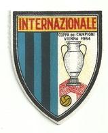 """3370 """" INTERNAZIONALE-COPPA DEI CAMPIONI-VIENNA 1964 """" TOPPA - PATCH -CALCIO - ORIGINALE - Scudetti In Tela"""