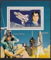 Guinée - 1985 - Poste Aérienne PA N°Yv. 180 - Space Shuttle - Mini-bloc / KLB - Neuf Luxe ** / MNH / Postfrisch - Spazio