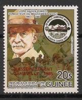 Guinée - 1985 - Poste Aérienne PA N°Yv. 192 - Scoutisme - Neuf Luxe ** / MNH / Postfrisch - Scoutismo