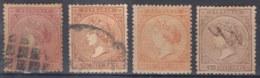 1869-94 CUBA SPAIN PUERTO RICO. ISABEL II. 1869. Ed.20+Ant.16-18. COMPLETE SET. - Cuba