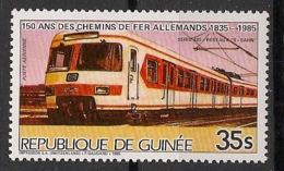 Guinée - 1985 - Poste Aérienne PA N°Yv. 194 - Locomotive - Neuf Luxe ** / MNH / Postfrisch - Treni