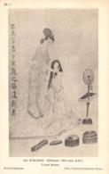 R191147 IX. 1. Ku Kai Chih. Chinese 4th Cent. A. D. Toilet Scene. British Museum. Oxford University Press - Cartoline