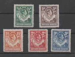 Northern Rhodesia, MNH, 1938, Lot - Rhodesia Del Nord (...-1963)