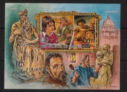 Guinée - 1986 - Bloc Feuillet BF N°Yv. 61 - Michel Ange - Neuf Luxe ** / MNH / Postfrisch - Arte
