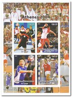 Congo 2004, Postfris MNH, Handball - Democratische Republiek Congo (1997 - ...)