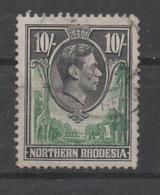 Northern Rhodesia, Used, 1938, Michel 44 - Rhodesia Del Nord (...-1963)