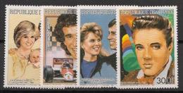 Guinée - 1986 - N°Yv. 811 à 814 - Personnages Célèbres - Neuf Luxe ** / MNH / Postfrisch - Guinea (1958-...)