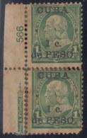 1899-344 CUBA US OCCUPATION 1899. 1c. PLATE NUMBER 566. - Prephilately