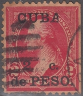 """1899-346 CUBA US OCCUPATION 1899. 2c. """"A"""" DE """"CUBA"""" PARTIDA. RARE. - Prephilately"""