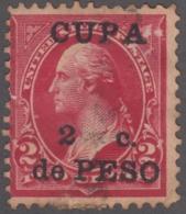 """1899-348 CUBA US OCCUPATION 1899. 2c. """"CUPA"""" X """"CUBA"""". FORGERY. PARA ESTUDIO. - Prephilately"""