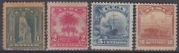 1905-144 CUBA US OCCUPATION 1899. 1c-10c NO GUM, 5c FINE USED. - Prephilately