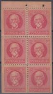 1917-347 CUBA REPUBLICA. 1917. 2c LIBRO DE CARTERO BOOKLED. PAPEL PEGADO AL REVERSO. - Prephilately