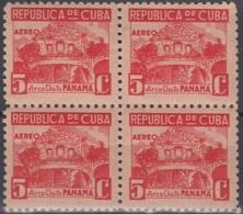 1937-338 CUBA REPUBLICA. 1937. Ed.320. PANAMA, WRITTER & ARTIST, ESCRITORES Y ARTISTAS. LIGERAS MANCHAS. - Prephilately