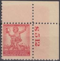 1939-205 CUBA REPUBLICA. 1939. MNH. Ed.2. SEMI POSTAL BENEFICENCIA PRO TUBERCULOSOS. - Prephilately